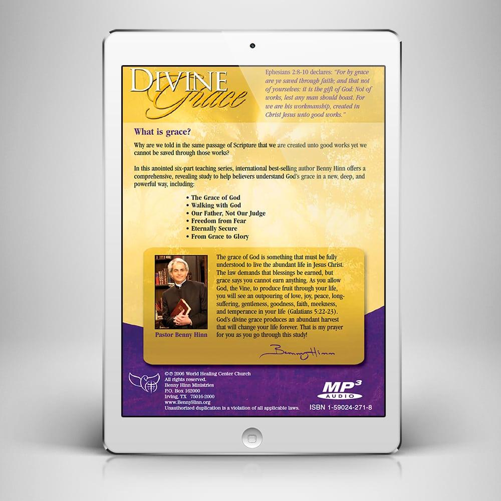 Divine Grace Digital Download from Pastor Benny Hinn