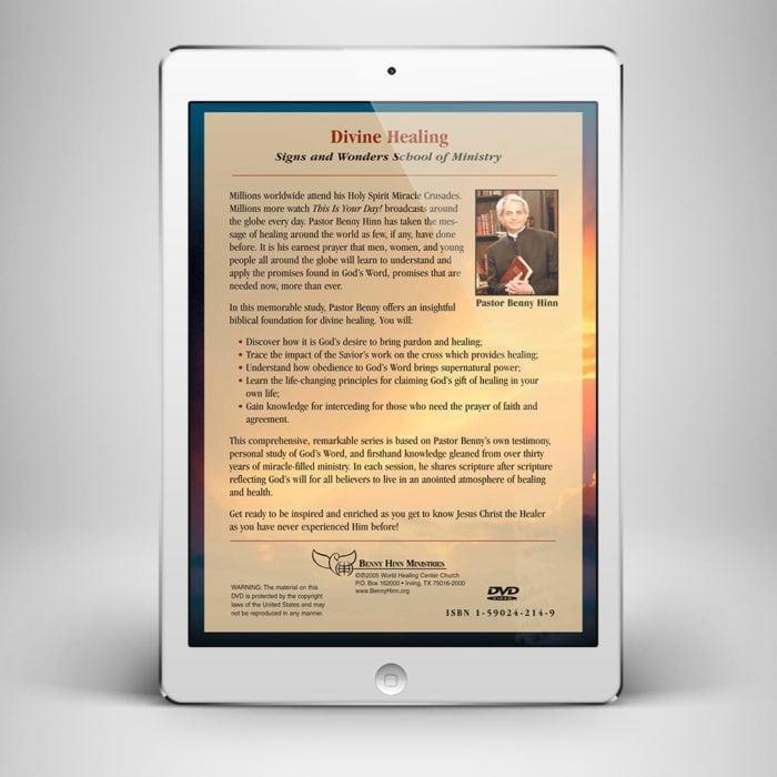 Divine Healing - Back Cover - Benny Hinn Ministries
