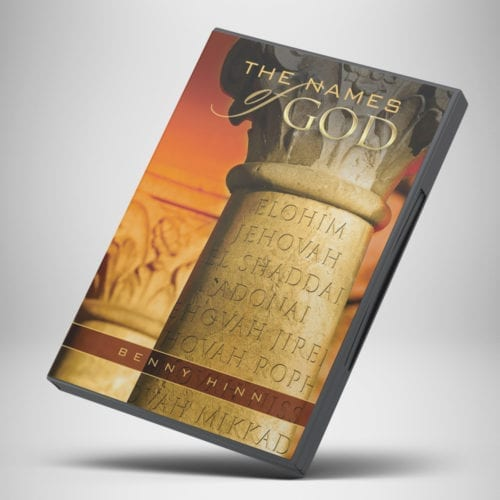 The Names of God CD - front cover - Benny Hinn Ministries