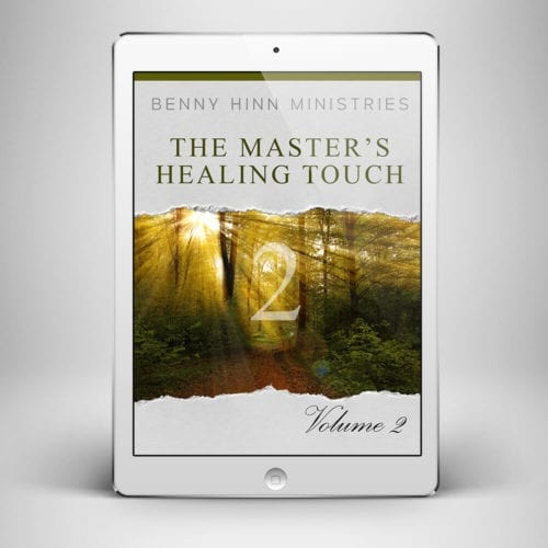 The Masters Healing Touch Vol 2 - Front Cover - Benny Hinn Ministries