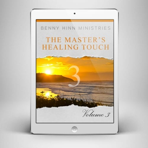 The Masters Healing Touch Vol 3 - Front Cover - Benny Hinn Ministries