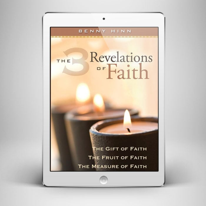 3 Revelations of Faith - Front Cover - Benny Hinn Ministries