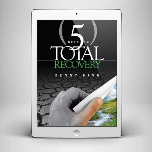 5 Keys to Total Recovery - Front Cover - Benny Hinn Ministries