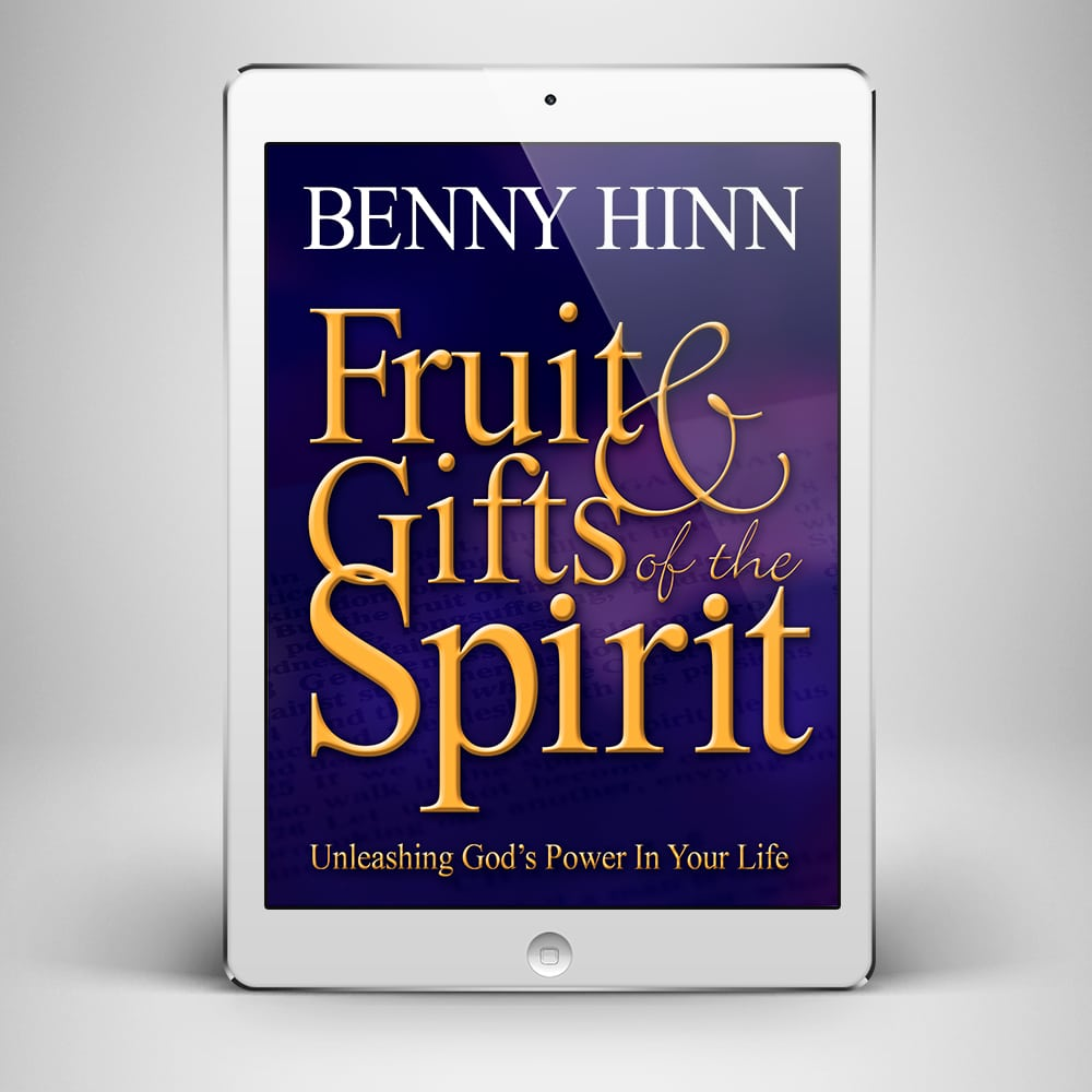 Fruit and Gifts of the Spirit - Front Cover - Benny Hinn Ministries
