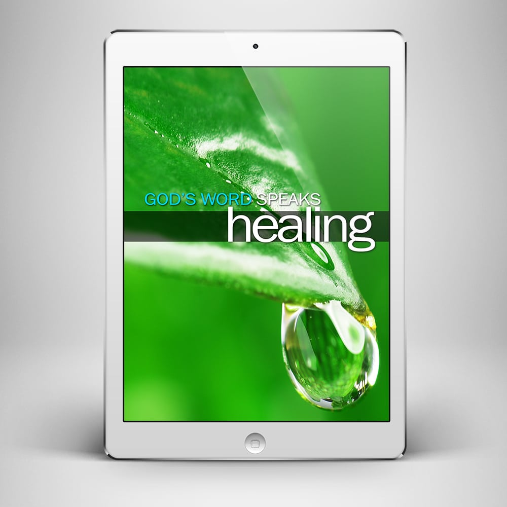 God's Word Speaks Healing - Front Cover - Benny Hinn Ministries