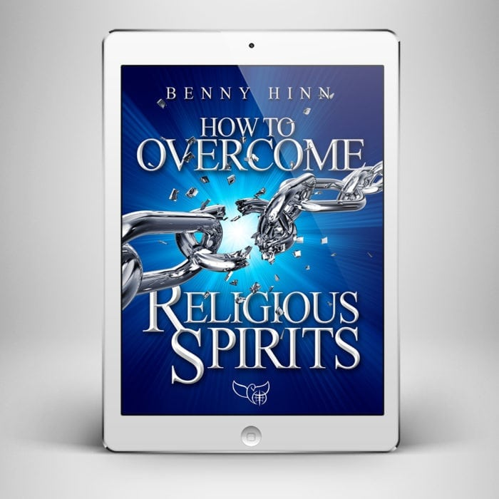 How to Overcome Religious Spirits - Front Cover - Benny Hinn Ministries