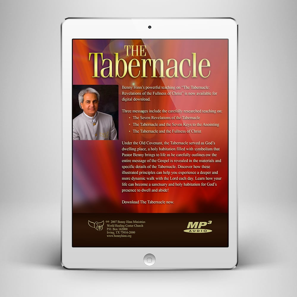 The Tabernacle - Back Cover - Benny Hinn Ministries