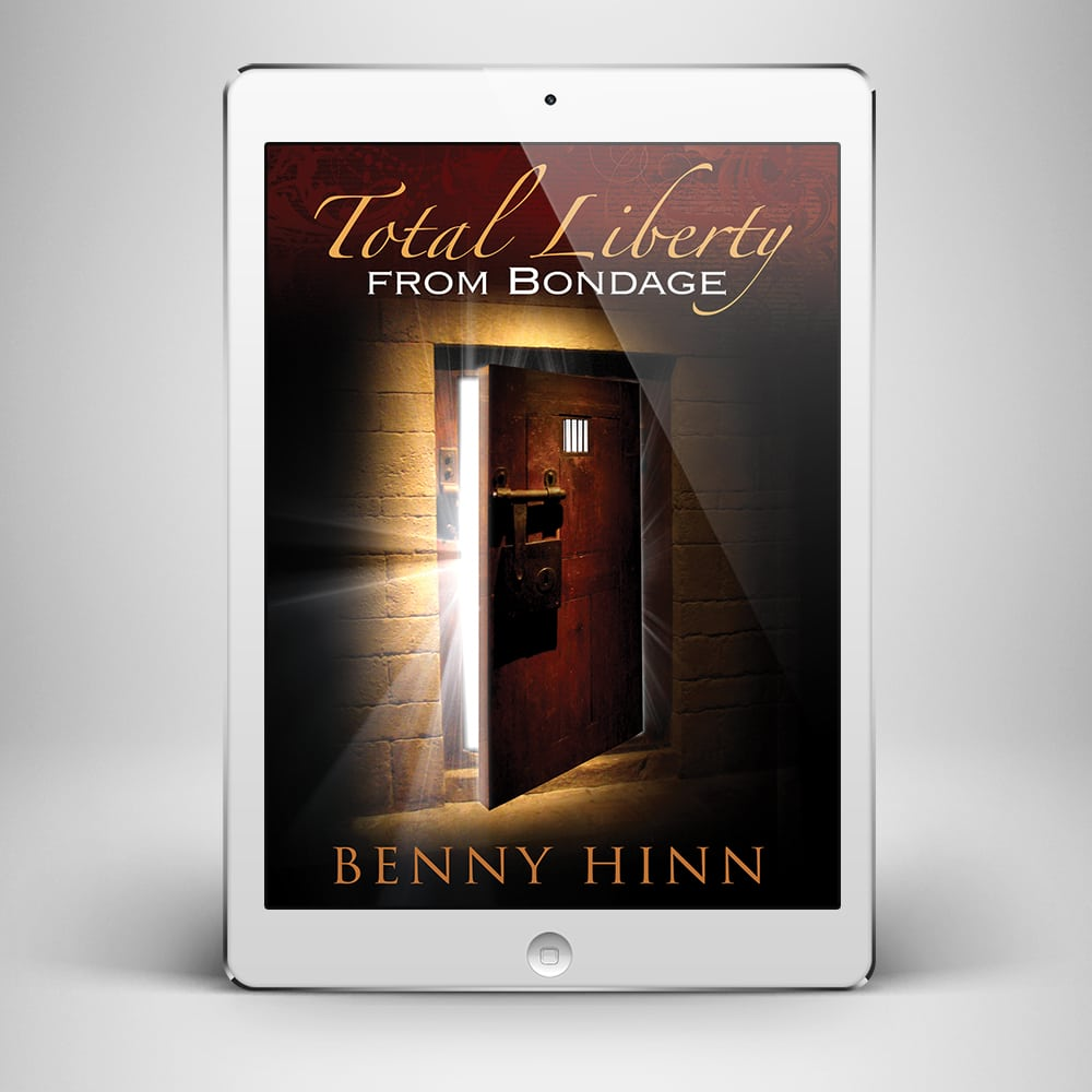 Total Liberty from Bondage - Front Cover - Benny Hinn Ministries