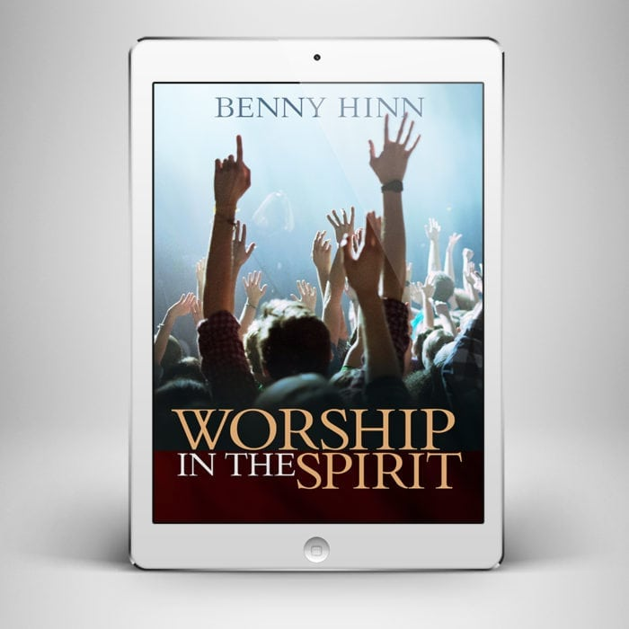 Worship in the Spirit - Front Cover - Benny Hinn Ministries
