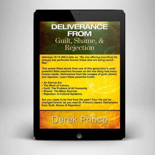 Deliverance from Guilt Shame and Rejection ebook - back cover - benny hinn ministries