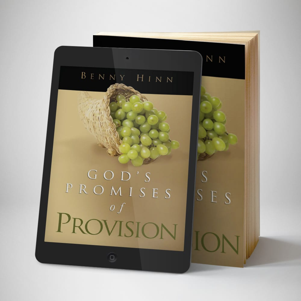 Gods Promises of Provision eBook - front cover - Benny Hinn Ministries