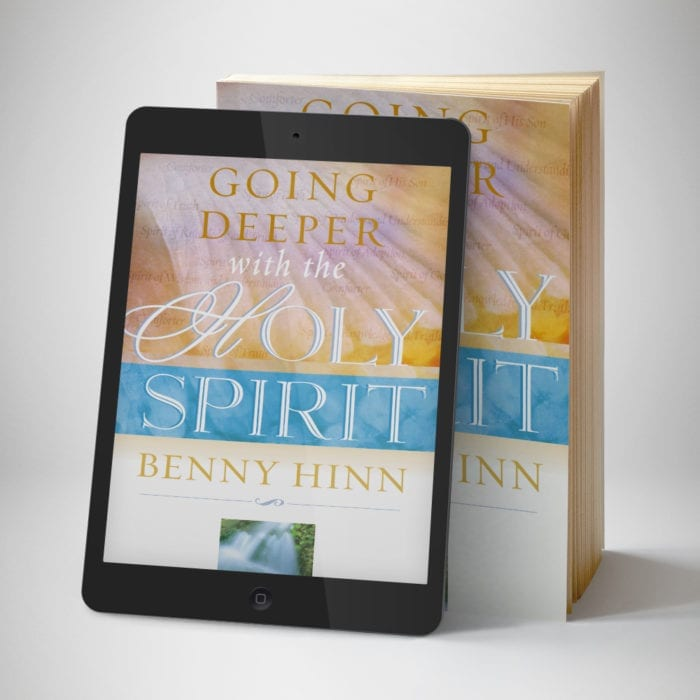 Going Deeper With The Holy Spirit eBook - Front Cover - Benny Hinn Ministries.jpg