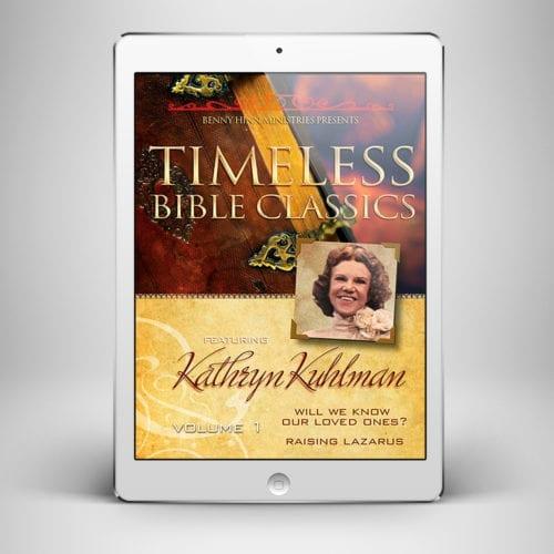 Kathryn Kuhlman V1 - Front Cover - Benny Hinn Ministries