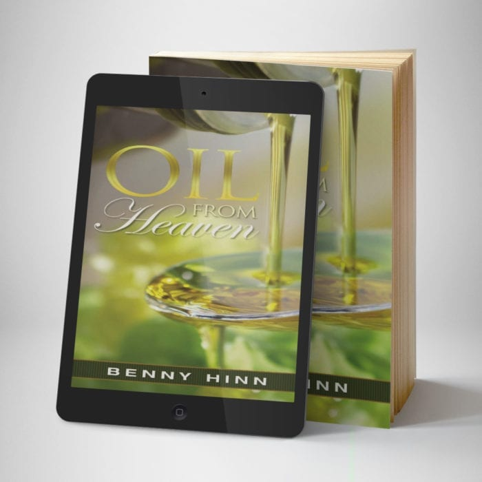 Oil From Heaven front cover 1 - Benny Hinn Ministries