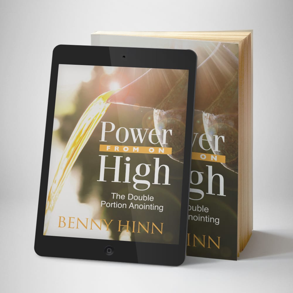 Power From On High eBook - front cover - Benny Hinn Ministries