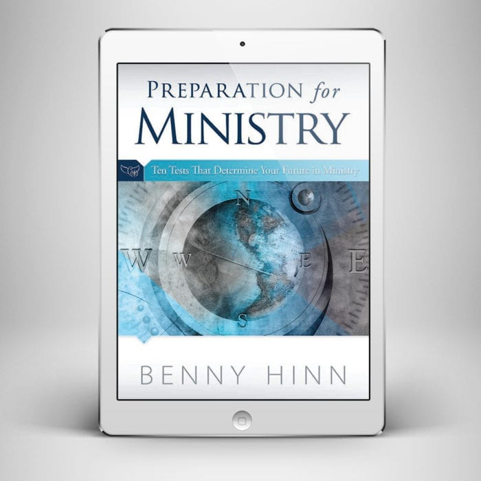 Preparation for Ministry - Front Cover - Benny Hinn Ministries