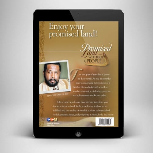 Promised Land Without a People Ebook - Back Cover - Benny Hinn Ministries