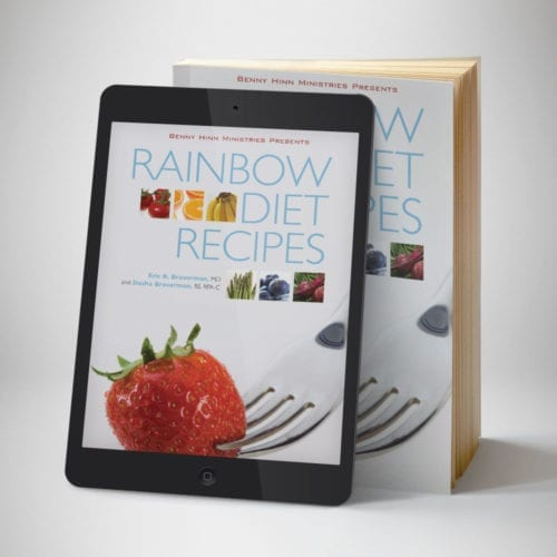 Rainbow Diet Recipes Ebook - Front Cover - Benny Hinn Ministries