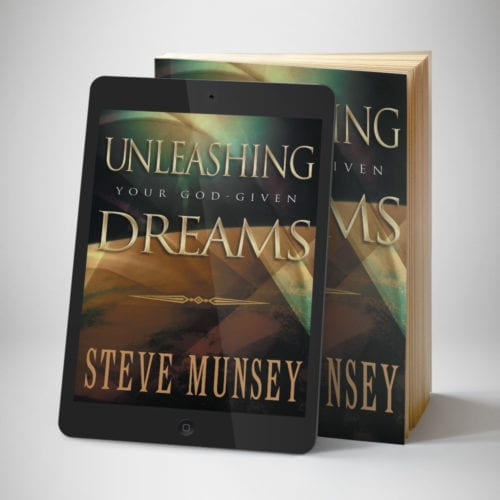 Unleashing Your God Given Dreams eBook - Front Cover - Benny Hinn Ministries