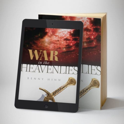 War in The Heavenlies Study Guide eBook - Front Cover - Benny Hinn Ministries