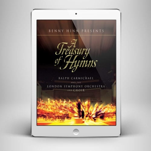 A Treasury Of Hymns Vol 1 - Front Cover - Benny Hinn Ministries
