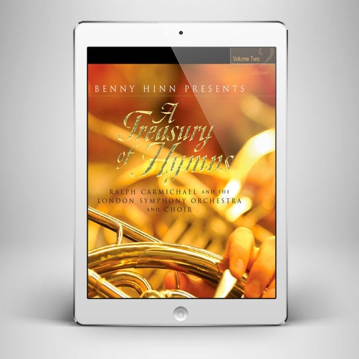 A Treasury of Hymns Vol 2 DD - Front Cover - Benny Hinn Ministries