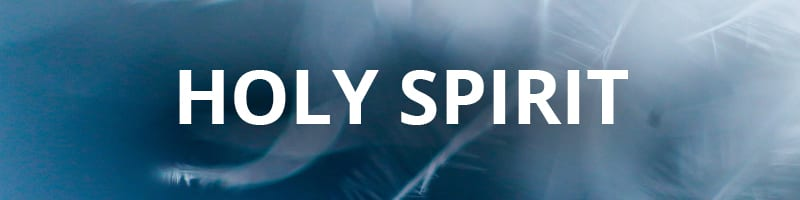 Holy Spirit - Product Category Banner - Benny Hinn Ministries