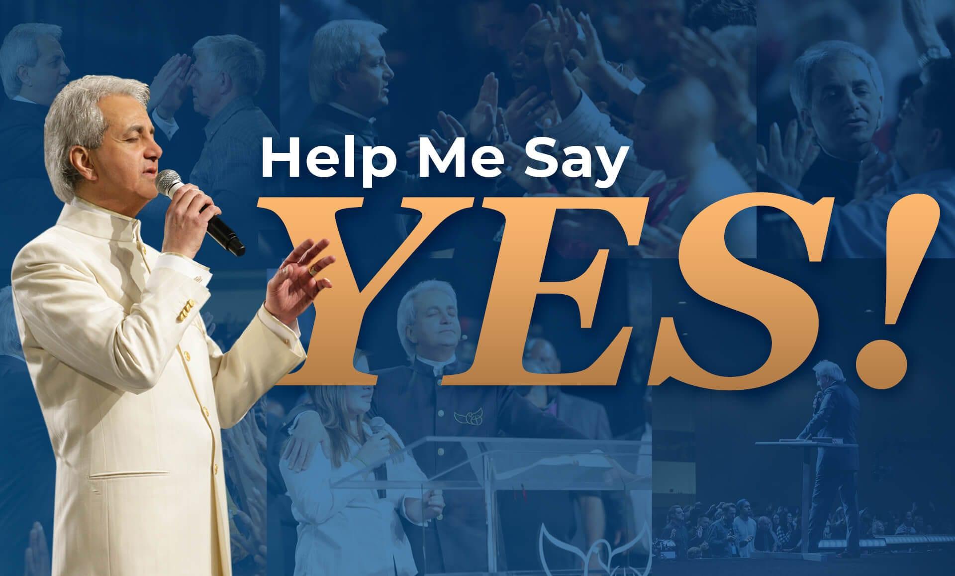 Help Me Say Yes!
